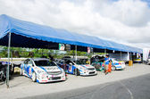 Thailand Super Series 2014 Race 3 — Stock Photo