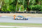 Tajlandia super serii 2014 wyścigu 3 — Zdjęcie stockowe