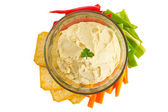 Hummus — Stock Photo