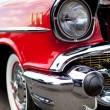 Classic Car Headlight — Stock Photo
