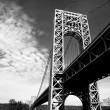 New York City George Washington Bridge - Stock Photo