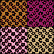 Royalty-Free Stock Photo: Leopard Print Tiles