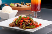 Gustoso cibo tailandese — Foto Stock
