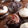 Cupcakes and Ingredients - Stock Photo