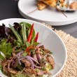 Num Tok Thai Steak Beef Salad - Stock Photo