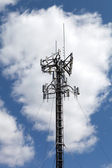 Cell Phone Antenna Tower — Stock Photo