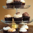 Cupcakes Tiered Tray — Stock Photo #23370090