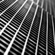 Subway Grate Closeup - Stock Photo