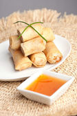 Thai Egg Rolls — Stock Photo