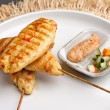 Постер, плакат: Chicken Satay Appetizer