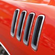 Stock Photo: Muscle Car Fender Vents