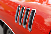 Muscle Car Fender Vents — Stock Photo