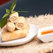 Stock Photo: Thai Spring Rolls
