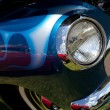 Stock Photo: Classic Car Headlight and Fender
