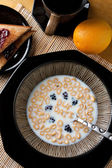 Due Date Cereal Reminder — Stock Photo