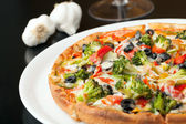 Specialty Pizza Toppings — Stock Photo