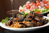 Zuppadi Mussels Dinner — Stock Photo