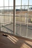 New Home Interior Windows — Stock Photo