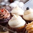 Fresh Cupcakes Iced — Stock Photo