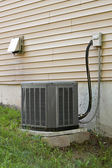 Central AC Condenser Unit — Stock Photo