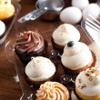 Fancy Cupcakes Packaged — Foto Stock