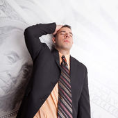Stressed Out About Money — Stock Photo
