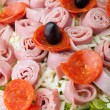 Antipasto Salad Closeup — Stock Photo