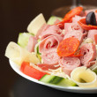 Stock Photo: Tasty Antipasto Salad