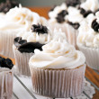 Delicious Gourmet Cupcakes — Stock Photo #33804593
