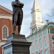 Samuel Adams Statue Boston — Stock Photo
