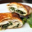 Spanakopita Spinach Pie — Stock Photo