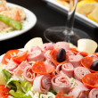 Stock Photo: Antipasto Salad