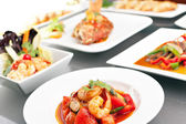 Variety of Thai Foods — Stock Photo