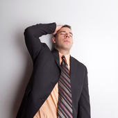 Stressed Out Business Man — Stock Photo