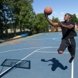 Basketball Layup — Stock Photo #38432905