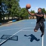 Basketball Layup — Stock Photo