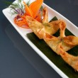 Asian Style Crab Rangoons — Stock Photo