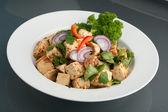 Thai tofu-gericht — Stockfoto