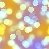 Golden Bokeh Circles — Stock fotografie