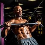 Weight Lifting Workout — Stock Photo #45845717