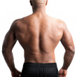 Man with a Muscular Back — Stock Photo #45845781