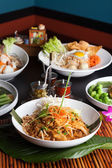 Variety of Thai Dishes — Stock Photo