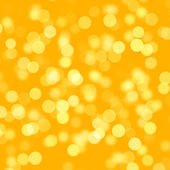 Golden Bokeh Circles — Stock Photo