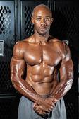 Spier Fitness atleet — Stockfoto