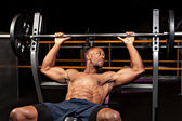 Weigh Bench Press — Stock Photo