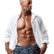 Abs Six Pack — Stock Photo
