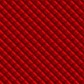 Red Padden Upholstery Pattern — Stock Photo