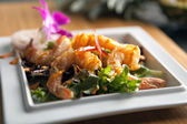 Thai Shrimp Dish — Stock Photo