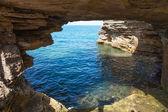 Bermuda Cave Formation — Stock Photo
