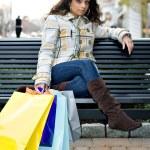 Shopping Girl — Stock Photo #6674755
